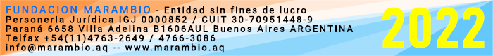 Fundación Marambio - www.marambio.aq - Tel. +54(11)4766-3086 4763-2649